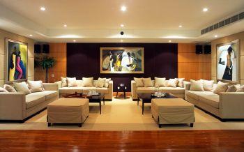 现代风格180平米4房1厅房子装饰效果图
