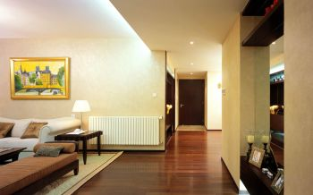 客厅走廊中式风格装修图片