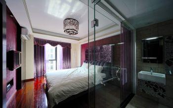 现代简约卧室新房隔断家装设计图