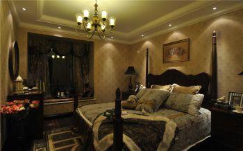 2021美式卧室装修设计图片 2021美式灯具装饰设计