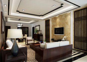 低调优雅20平米客厅背景墙室内装饰