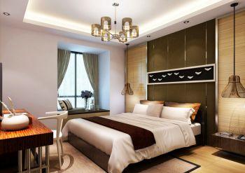 卧室白色飘窗装修设计