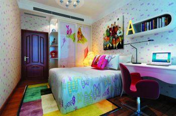 南京翠屏城二居室家庭现代欧式装修效果图