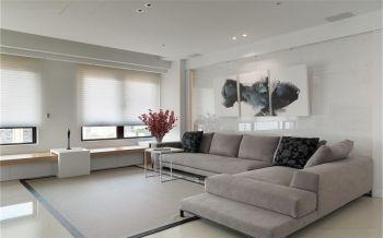 现代简约风格80平米公寓房子装饰效果图