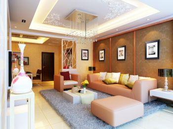 亚东同城逸境二居室家庭现代装修效果图