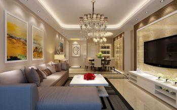 海伦国际简欧风格四居室装修效果图