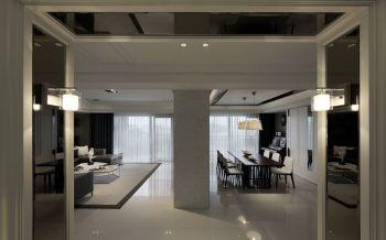 2020新古典120平米装修效果图片 2020新古典三居室装修设计图片