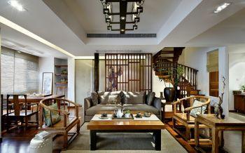 中式传统风别墅装修效果图