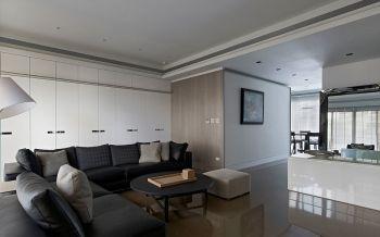 现代简约时尚风格三居室装修效果图