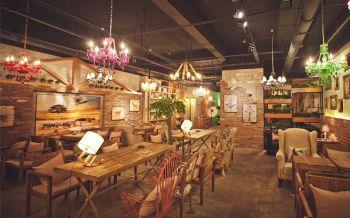 阶梯旧时光咖啡馆装修效果图