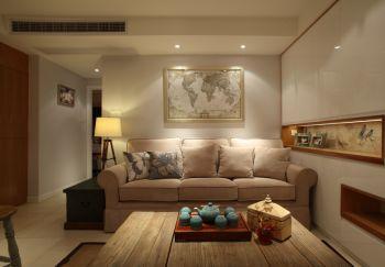 混搭风格舒适小两居装修效果图