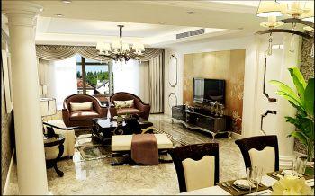 欧式风格100平米2房2厅房子装饰效果图