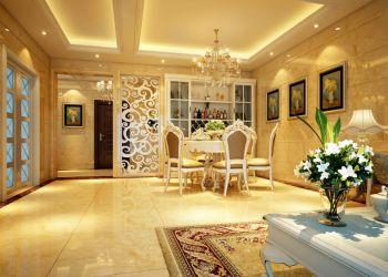 保利东湾现代欧式三居室装修效果图