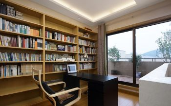 中式仿古风复式家居装修案例图