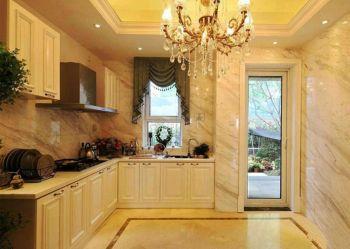 现代欧式风格120平3房1厅房子装饰效果图