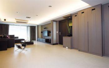 现代简约风生活两居室装修效果图