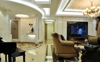 2021欧式120平米装修效果图片 2021欧式三居室装修设计图片