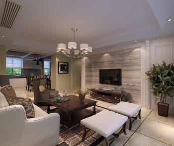 欧式风格110平米套房新房装修效果图