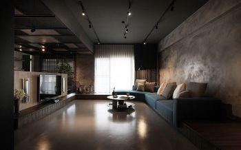 后现代风格80平米2房1厅房子装饰效果图