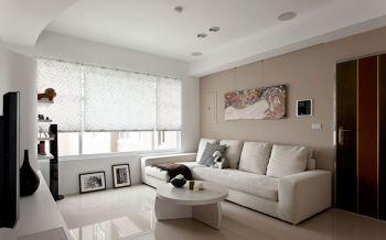 现代简约风格100平米3房1厅房子装饰效果图