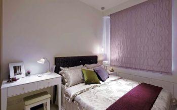 儿童房粉色窗帘现代简约风格装潢设计图片