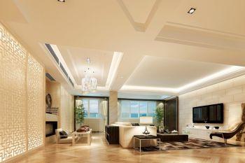 宁波永和居易现代新中式风格楼房装修效果图