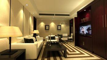 洪湖酒店套间客厅装修设计