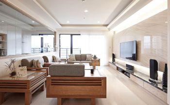 2019现代中式80平米设计图片 2019现代中式二居室装修设计