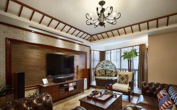 现代美式风格舒适家居装修效果图