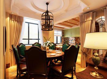 宁波永和居易欧式风格三居室家装案例图
