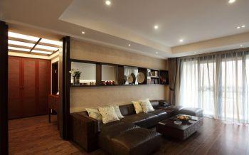 华强广场143平米现代风格四居室装修效果图
