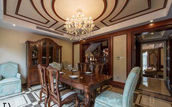 欧式木质风格别墅装修效果图