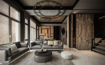 后现代风格180平米4房1厅房子装饰效果图