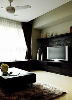 简约三居室家庭空间装修案例图