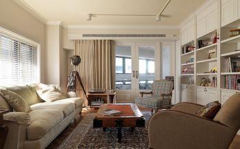 田园风格130平米三房两厅新房装修效果图