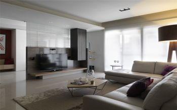 二居室简约大方风格装修案例图片