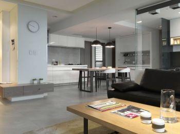 简约样式二居室家庭装修案例图片