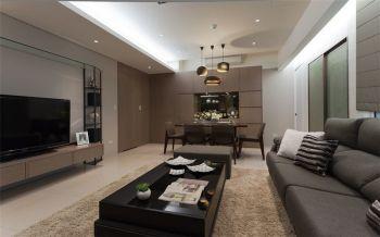 简约主义二居室家庭装修案例图