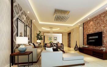 御景名城现代简约风格二居室装修设计图