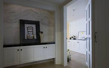 现代风尚三居室家庭装修案例图