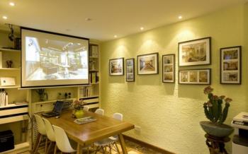 和平区个人工作室照片墙装修效果图