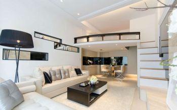 现代简约风格跃层套房装修效果图