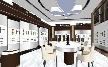 宁波顶固五金展厅展区大厅装修设计