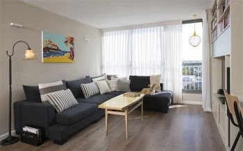 北欧风格简单两居室装修效果图