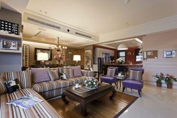 银珠明园欧式混搭风格三居装修效果图