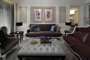 欧式风格80平米2房1厅房子装饰效果图