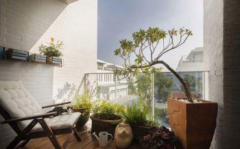 阳台彩色细节北欧风格装修图片