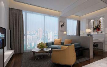 简约风格100平米三室两厅室内装修效果图