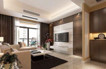 润州华府现代风格二居室装修案例图