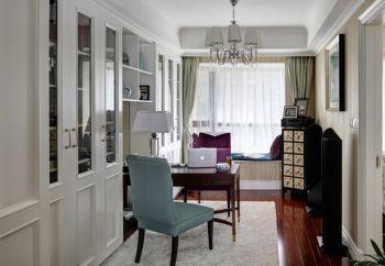 现代欧式风格110平米3房1厅房子装饰效果图